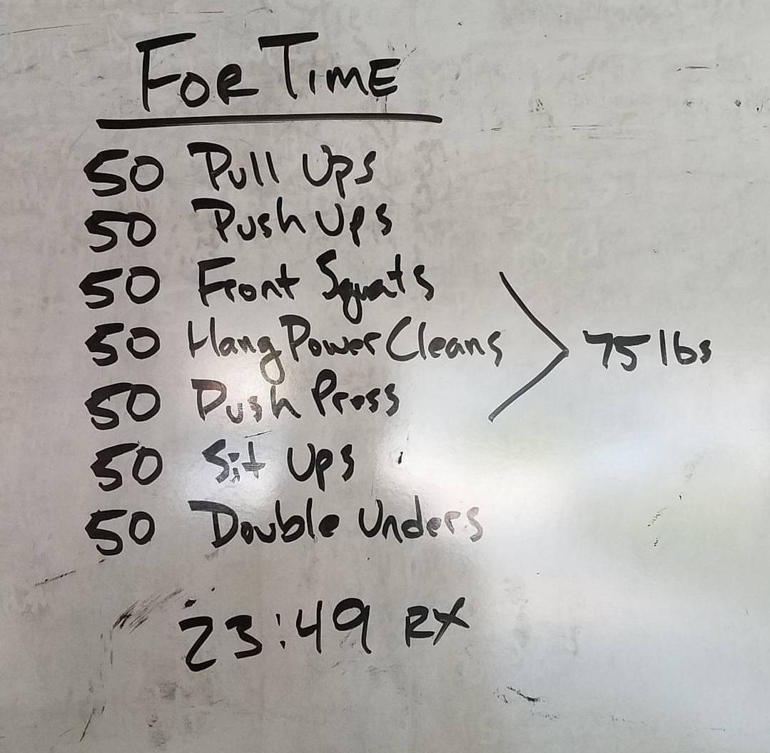 Screenshot garage gym experiment